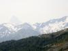 Mt Assiniboine in smoke haze