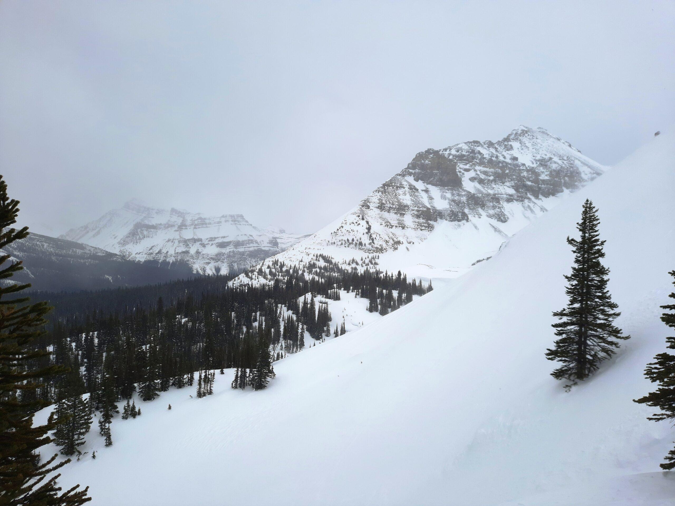 Bow Peak low down the ridge