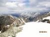 North summit in right corner