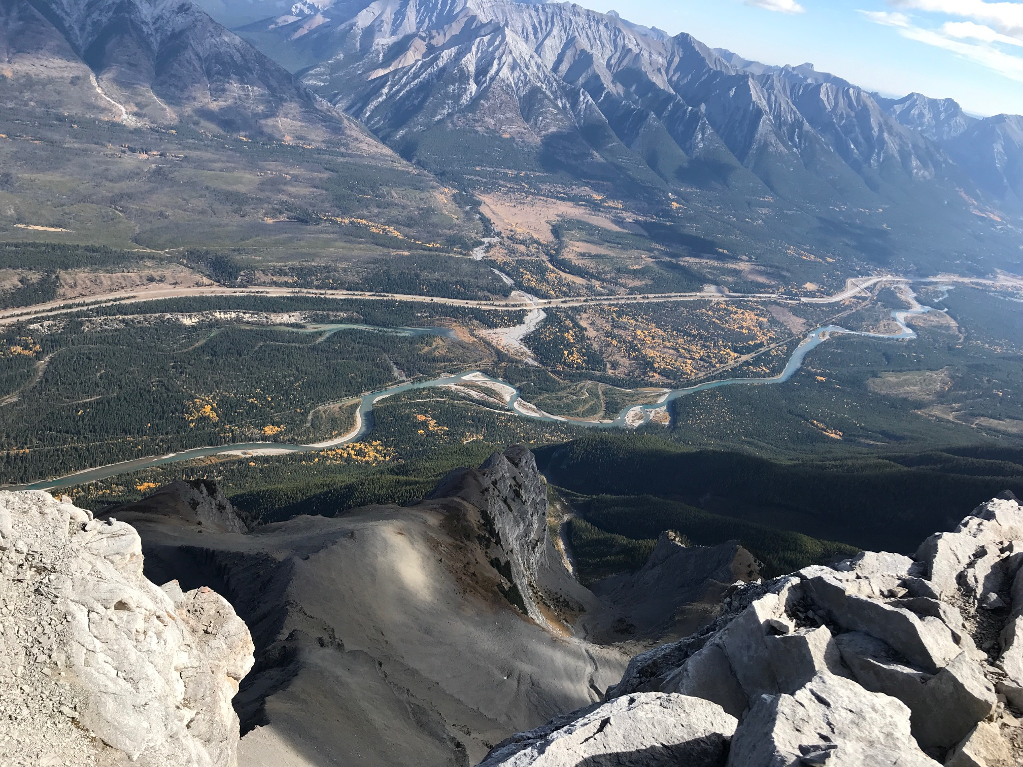 18 View into the Bow Valley