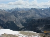 Views east. Bobac Mt,Mt Kentigan, Clearwater, Mt Augusta,Mt Recondite and Mt Profound