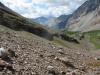 Looking down Prospectors Valley