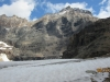 Opabin glacier and Ringrose Peak 3281m