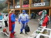 Batman & Superman ready for the Slush Cup