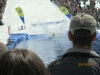 Action in the Slush Cup