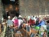 The Gang having breakfast.Chimney Lounge