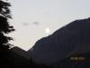 Full moon over Tangle Ridge