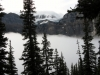 Low Cloud blankets Moraine Lake