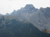Four Peaks of Mt Lougheed and Wind Tower