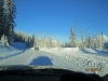 Road to Mt Shark Ski Trails