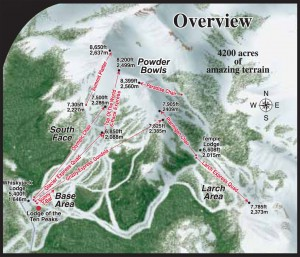 Lake Louise Ski Overview