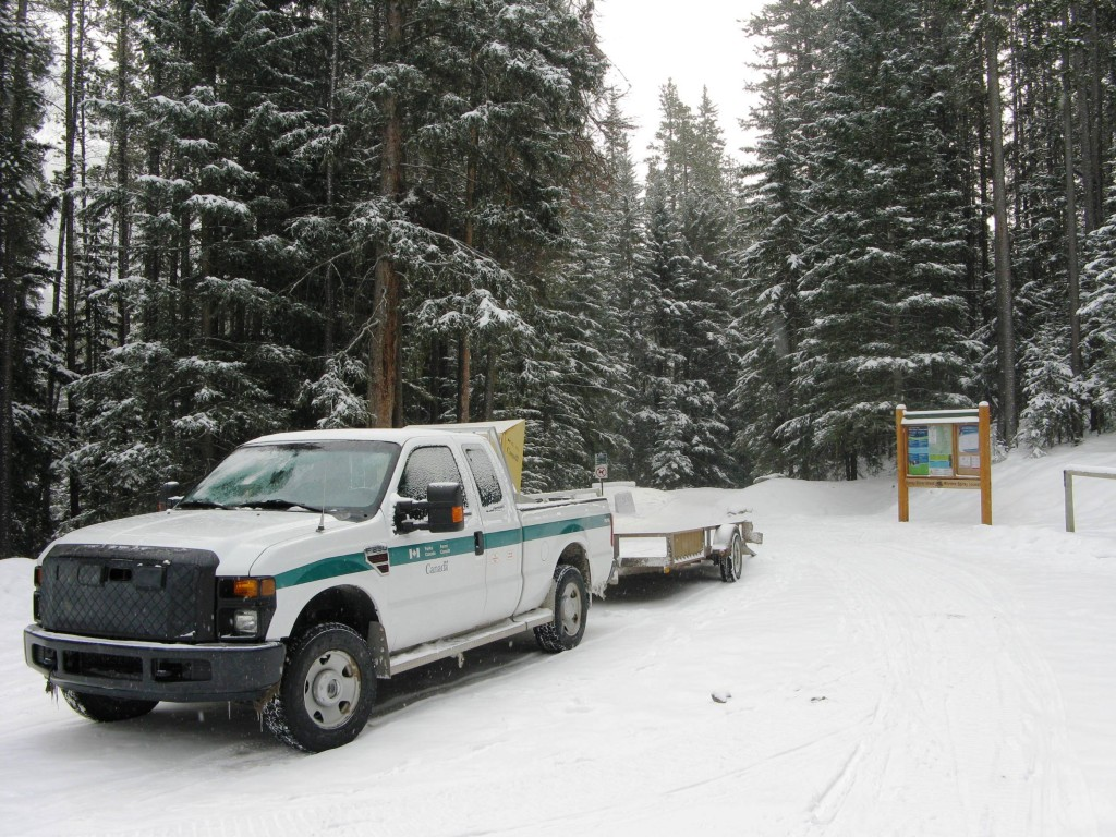 Parks Canada Tracksetter Vehicle