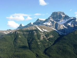Some of the Mt Lougheed summits