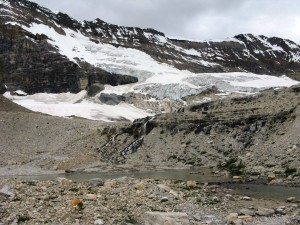 Remains of Glacier under Michael Peak