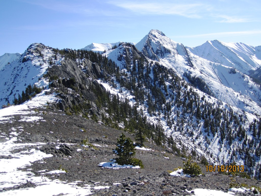 Wasootch Ridge to Summit