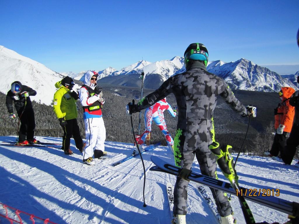 National Ski Team Training