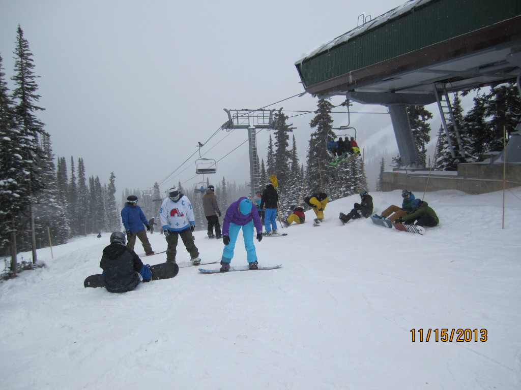 Top of Wolverine Chair.