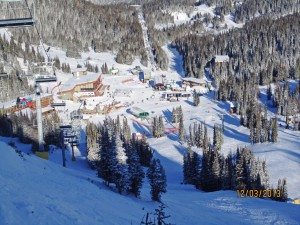 village from Standish - Sunshine Village