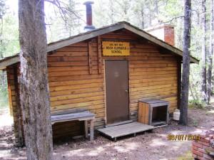 Lac Des Arc old climbing hut
