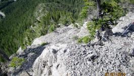 Anklebiter Ridge.