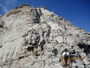 Down climbing