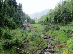 Monica Creek to Tent Ridge