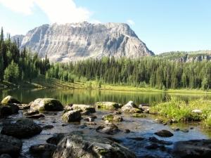 Un-named lake & Monarch Mt
