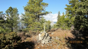 Cairn at the 3rd Hump
