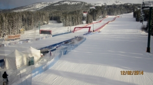 Word Cup Race Finish Line Lake Louise