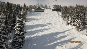 Old Ptarmigan Run on the backside of Lake Louise