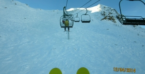 On Paradise Chair in good early condition