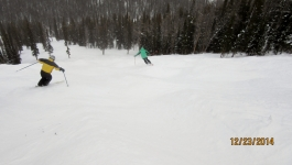 Lake Louise Ski Resort Dec 23