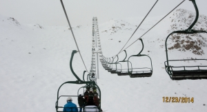Long slow ride up the Paradise Chair