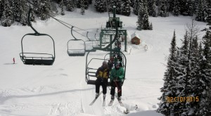 Kerry & Gary on Paradise Chair