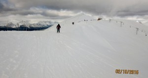 Going along the Corridor from the Paradise Chair