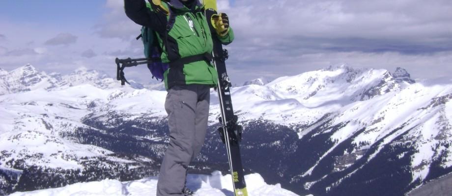 Skiing Delirium Dive Sunshine Village
