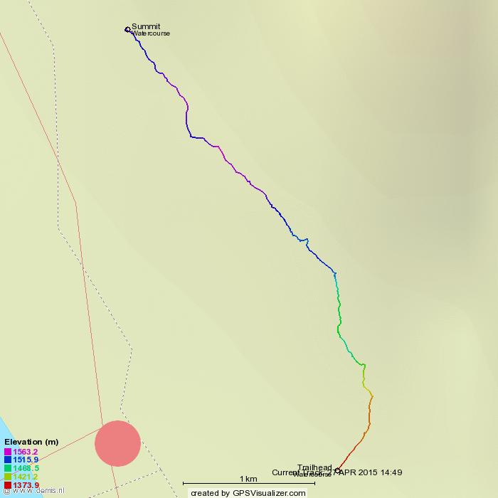 Montane Traverse Route