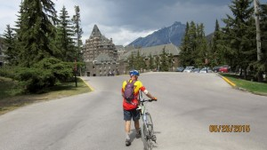 Kerry at Banff Springs Hotel