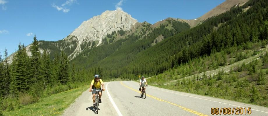 Biking the Highwood Pass Road