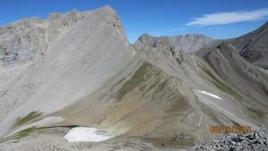 Smutswood Peak trail visable