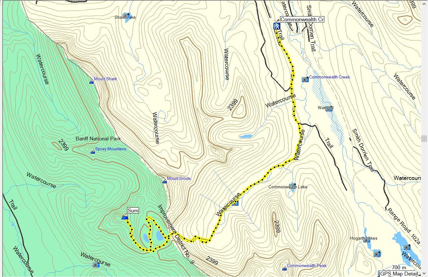 SmutwoodPeak Map