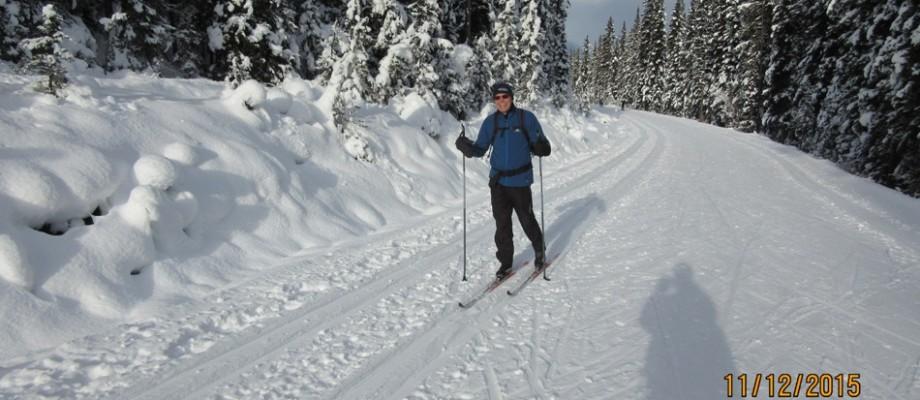 Moraine Lake Rd & Lake Louise Resort X-Country & Downhill