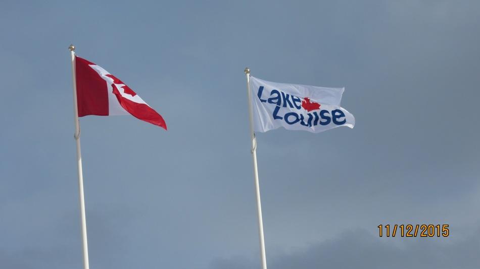 First visit to Lake Louise Nov 12