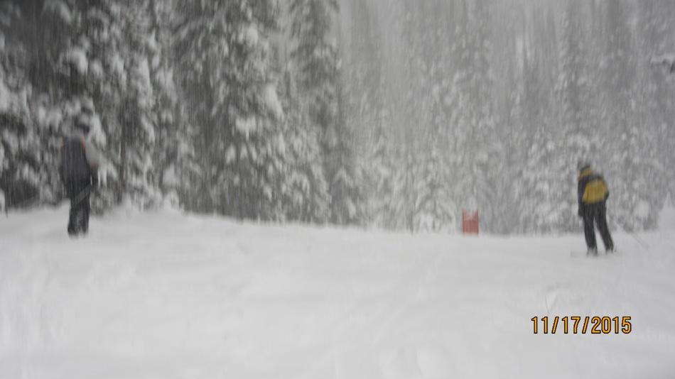 Nice skiing at Wolverine