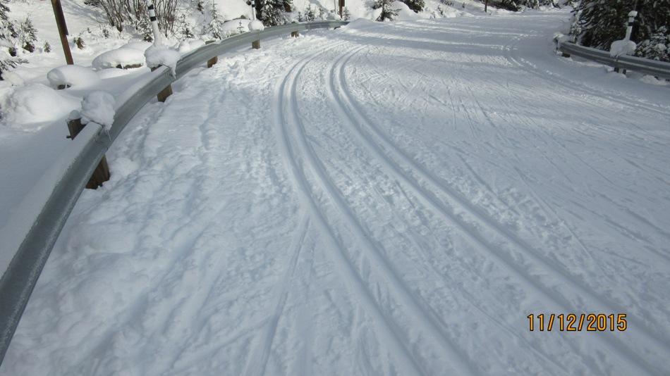 Nice track setting