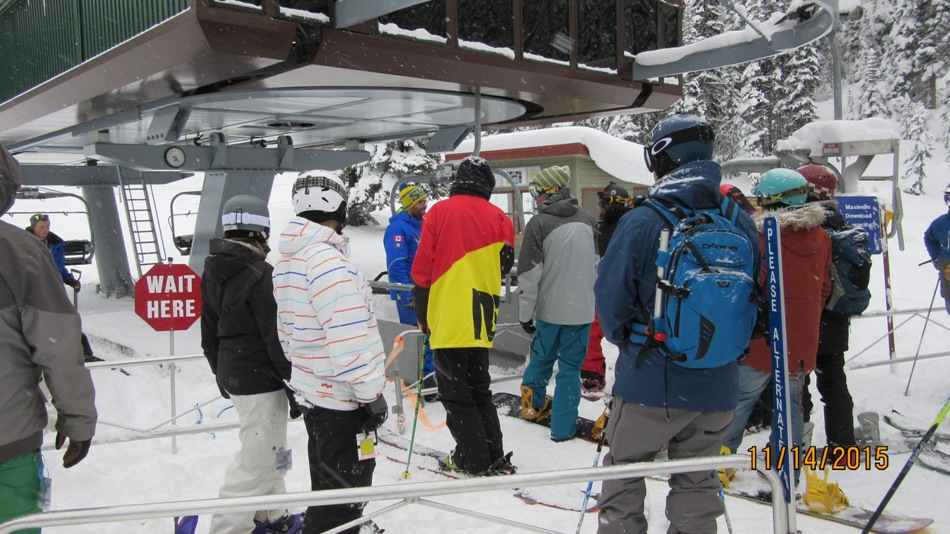 Waiting for the start of the season at Sunshine 40cm