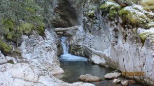 Water fall Galatea Creek
