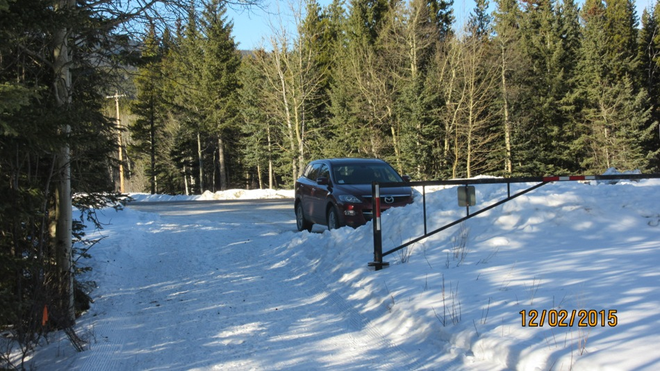 Parking for Bill Milne Trail