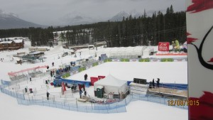 Lake Louise ready for the Womans Downhill race