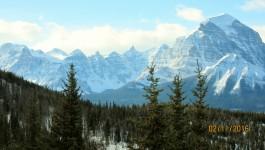 Lake Louise Ski Resort Feb 11